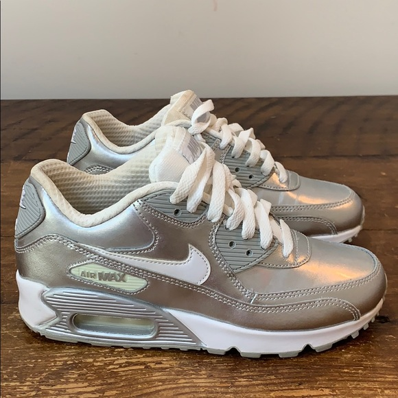 online for sale nice cheap on sale Nike Air Max 90 Premium LTR (GS) Shoes Size 4.5 Y